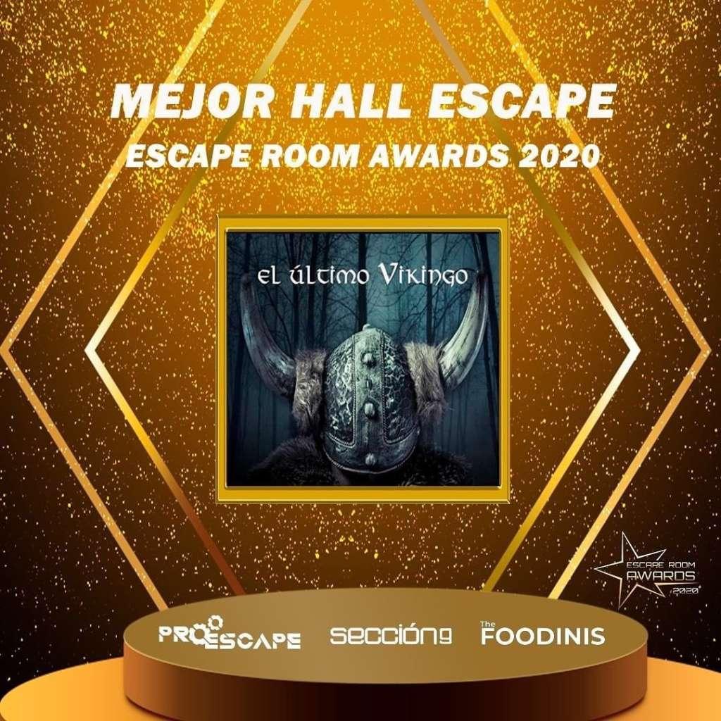 Premio mejor sala de escape 2020